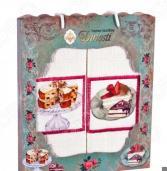 Комплект из 2-х кухонных полотенец Dinosti «Торты»