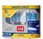 Комплект автоламп галогенных ClearLight WhiteLight H4 12V-60/55W
