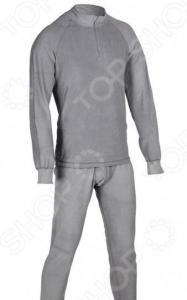 Комплект термобелья Huntsman H-100-zip. Цвет: серый