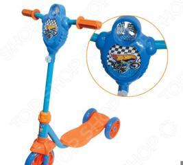 Самокат трехколесный 1 Toy Т57577 «Hot wheels»