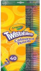 Набор цветных выкручивающихся карандашей Crayola 1013266