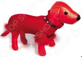 Свитер для собак DEZZIE «Рокси». Цвет: красный