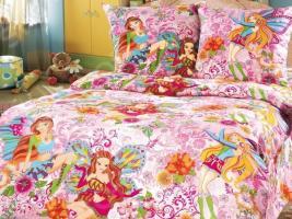 Детский комплект постельного белья Бамбино «Добрые феи»