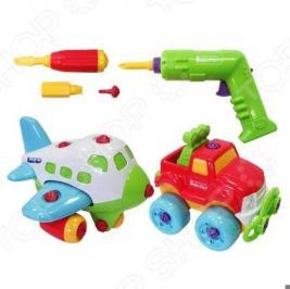 Игровой набор Keenway «Самолет и джип»