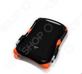 Внешний жесткий диск Silicon Power SP010TBPHDA30S3K