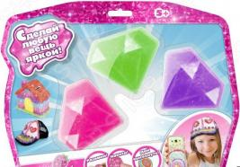 Набор для лепки из пластика 1 Toy Crystalike Т10849. В ассортименте
