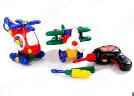 Конструктор пластмассовый Bradex «Маленькая авиация»