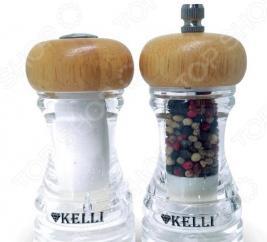 Набор: мельница для перца и солонка Kelli KL-11107
