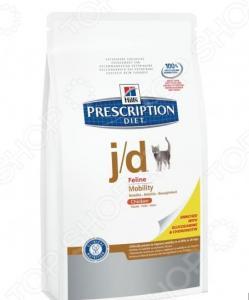 Корм сухой диетический для кошек Hill's J/D Prescription Diet Feline Mobility
