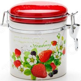 Банка для сыпучих продуктов Loraine Strawberry