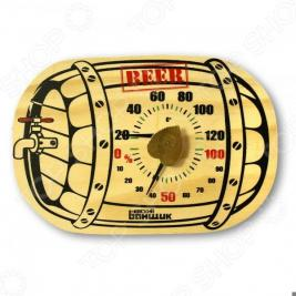 Термометр для бани и сауны EVA «Бочка»
