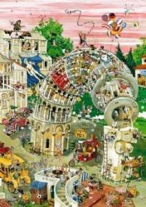 Пазл 1000 элементов Heye «Пизанская башня» Robert Crisp