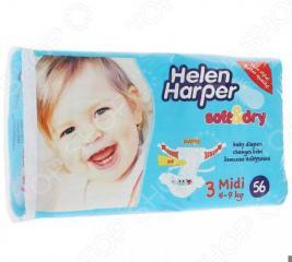 Подгузники Helen Harper Soft Dry midi (4-9 кг)