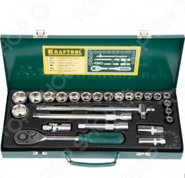 Набор торцевых головок Kraftool Industrie Qualitat 27892-H25_z01