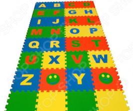 Коврик-пазл развивающий ECO COVER «Алфавит английский»