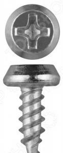 Набор саморезов Зубр КЛМ-Ц для листового металла, оцинкованные