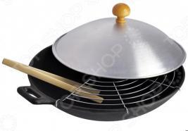 Сковорода вок с крышкой Regent Ferro