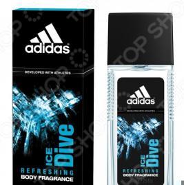 Парфюмированная вода для мужчин Adidas Ice Dive, 75 мл