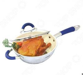 Сковорода с керамическим покрытием Vitesse Blue Arch