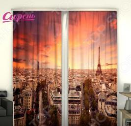 Фотошторы Сирень «Париж»