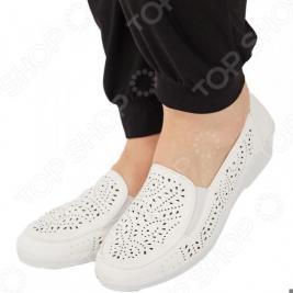 Туфли АЛМИ «Гренада». Цвет: белый