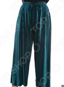 Юбка-брюки Pretty Woman «Бархатный выход». Цвет: зеленый