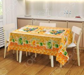 Набор: скатерть и 2 полотенца ТексДизайн «Мандарин» 1719359
