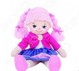 Мягкая кукла Gulliver Земляничка с двумя косичками. В ассортименте