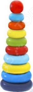 Игрушка-пирамидка Alatoys «Колечки» 050110