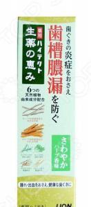 Зубная паста Lion Hitech-Herb