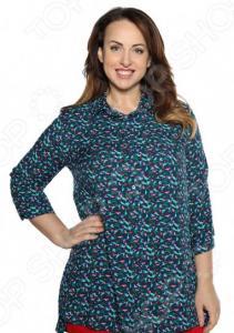 Рубашка Pretty Woman «Край чудес». Цвет: синий