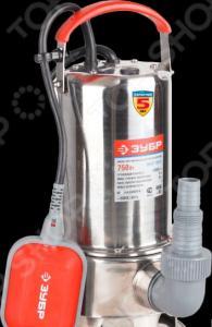 Насос погружной для грязной воды Зубр ЗНПГ-750-С