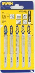 Пилки для электролобзика IRWIN T127D HSS