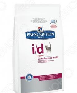 Корм сухой диетический для кошек Hill's I/D Prescription Diet Feline