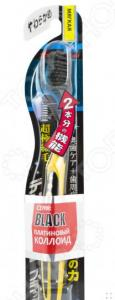 Зубная щетка DENTALPRO PCC Black Ultra Slim Plus. Жесткость: мягкая (soft). В ассортименте