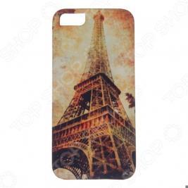 Чехол для iPhone 5 Mitya Veselkov «Эйфелева башня осенью»