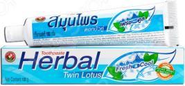 Зубная паста антибактериальная Twin Lotus Herbal Fresh&Cool