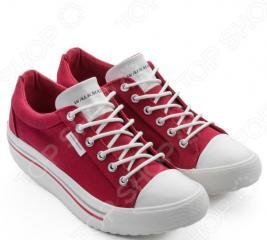 Кеды Walkmaxx Comfort 4.0. Цвет: красный
