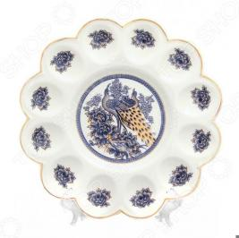 Менажница для яиц Elan Gallery «Павлин синий» 740137