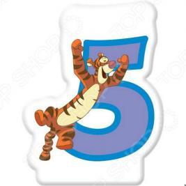 Свечка объемная Procos «Тигра» 5 лет