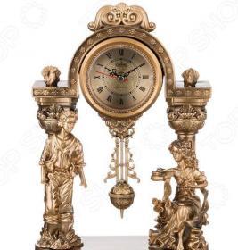 Часы настольные «Престиж». Дизайн: влюбленная парочка