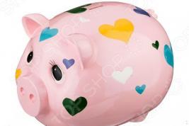 Копилка «Свинка с сердечком» 574-049