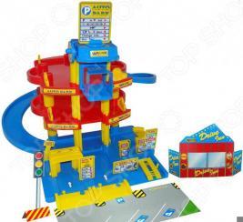 Набор игровой для мальчика Wader «Паркинг 3-х уровневый с автомобилями»