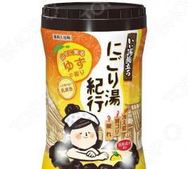 Соль для ванны Hakugen Earth «Банное путешествие» с ароматом юдзу