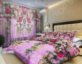 Комплект постельного белья «Цветочная лоза». 1,5-спальный