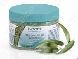 Соль для ванны Наоми Мертвое море с экстрактом эвкалипта