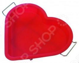Форма для выпечки силиконовая Regent Сердце