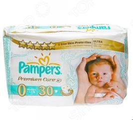 Подгузники PAMPERS Premium Care Newborn Средняя упаковка