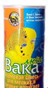 Корм для попугаев малых и средних размеров ВАКА «Люкс»