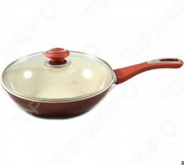 Сковорода вок Vitesse серии Classiс с крышкой